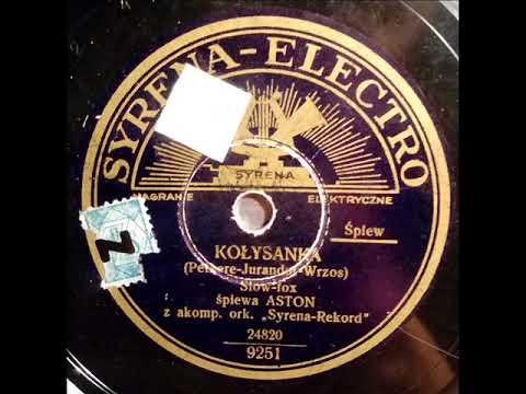 Adam Aston-Kołysanka-Slow-Fox-1935!