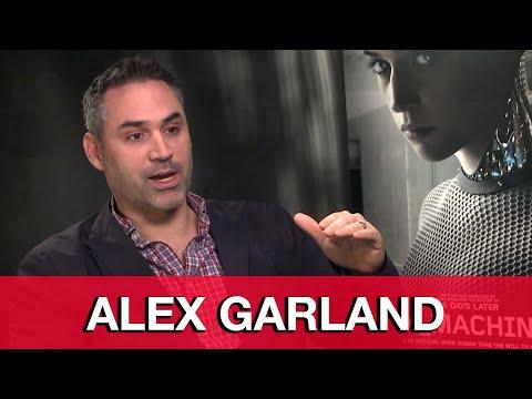 Ex Machina Director Alex Garland Interview | MTW