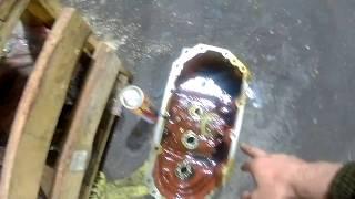 Ремонт трактора МТЗ-320 (выбивает передачи на КПП)