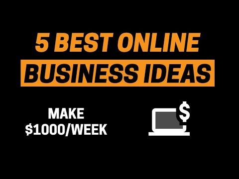 Kaip galite uždirbti didelius pinigus per internetą