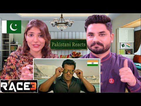 Pakistani Reacts To | Race 3 Official Trailer | Salman Khan | Remo D'Souza | Race 3 Reaction