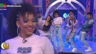Primera Presentación de Chelsy en la televisión Dominicana   Esta Noche Mariasela