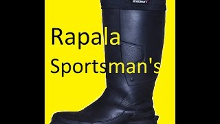 Сапоги зимние rapala