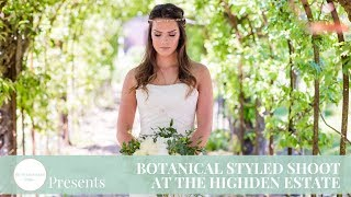 The Outside Bride | Botanical Styled Shoot at the Highden Estate | Styled Wedding Shoot Blog