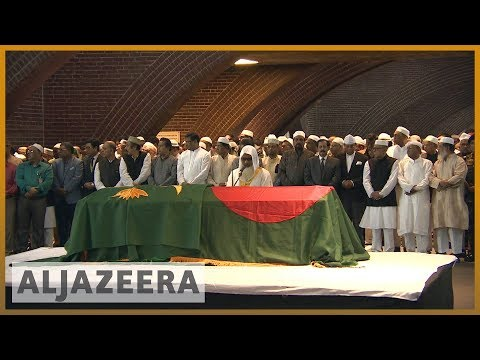 State funeral for Bangladesh`s former President Ershad