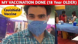 Covishield COVID-19 Vaccine VLOG in 2021 | My Experience | 18 YEAR OLDER.. - EXPERIENCE