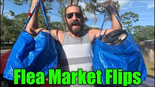 Flea Market Flips - Tons Of Rare Jordan's And Video Game Finds!