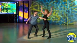 Swing Fling 2017 Superstar Show Ben Morris & Victoria Henk