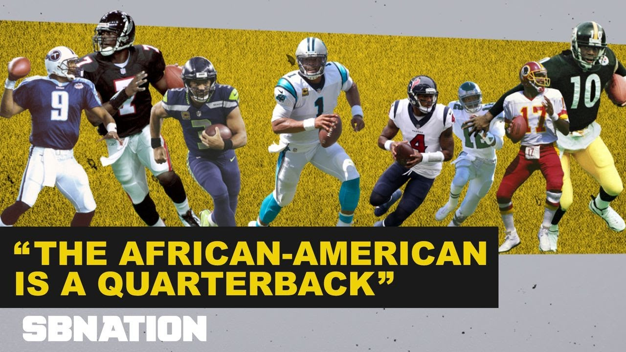 What being a black quarterback in the NFL means thumbnail