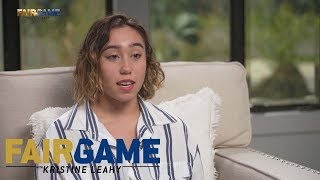 "Katelyn Ohashi on being body shamed: ""My coaches used to body shame me."" 