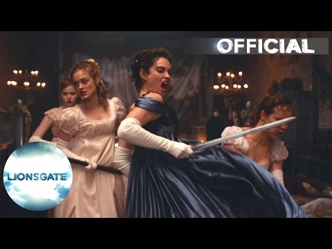 Pride and Prejudice and Zombies (UK TV Spot 'Fight')