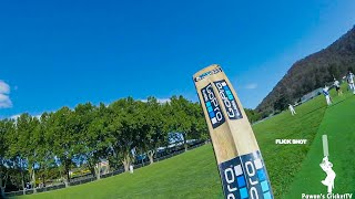 GoPro POV Batting -Punishing Balls to the Boundaries in my First Over