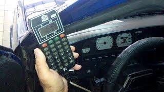 Регулировка колдуна автомобиля с помощью педалемера