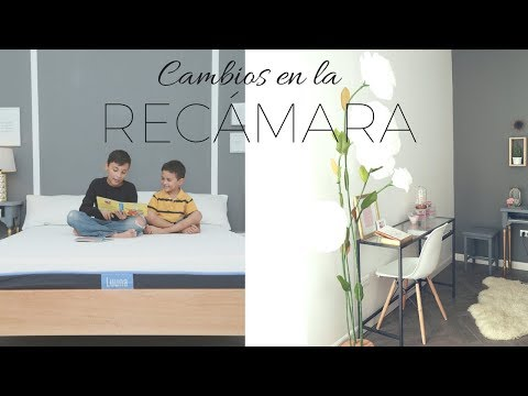 CAMBIOS EN LA RECÁMARA / COLCHÓN Y ALMOHADAS LUUNA Y NUEVA OFICINA EN CASA| Pabla en casa