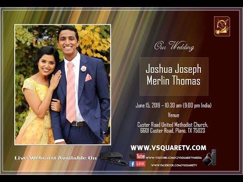 Joshua Joseph Weds Merlin Thomas