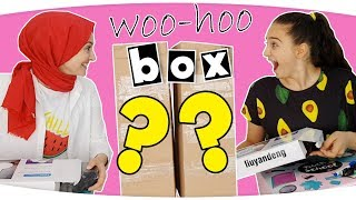 OKULA DÖNÜŞ WOOHOOBOX Sürpriz Kutu Açılımı ( WOO-HOO BOX ) Fenomen Tv Woohoobox Kırtasiye Alışverişi