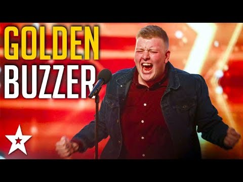 Nervous Welsh Opera Singer Gets GOLDEN BUZZER! | Britain's Got Talent | Got Talent Global