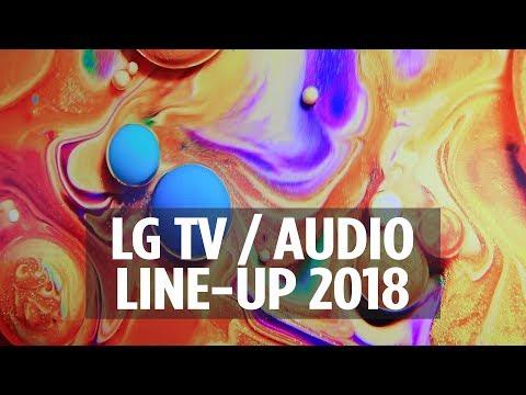 LG TV / AUDIO LINE-UP 2018