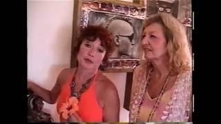 Airielle Pearson & artist Marly Stone 2002