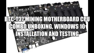 BTC-37 Miner-Motherboard-Fall