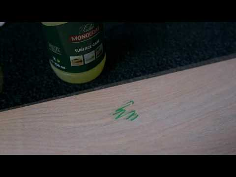 Rubio Monocoat Quicktip permanent marker removal