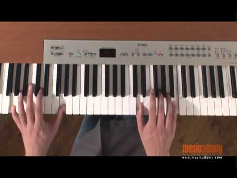 Using Chords to play How Great is Our God on worship keyboards