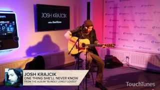 "Josh Krajcik - ""One Thing She'll Never Know"" Live at TouchTunes"