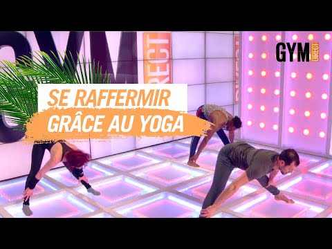 Raffermir les cuisses et les fessiers grâce au yoga - Gym Direct