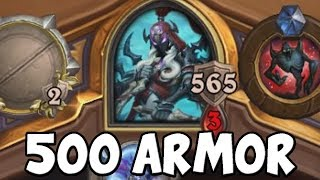 500 Armor Rogue Hearthstone