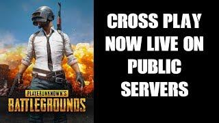 PUBG: PS4 & Xbox Cross-Play Now LIVE On Public Servers!