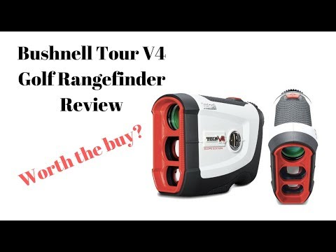 Bushnell Tour V4 Golf Rangefinder Review! Should You Buy?