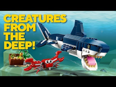 Vidéo LEGO Creator 31088 : Les créatures sous-marines