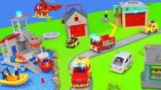 Feuerwehrmann Sam: Neue Spielzeugautos, Jupiter Feuerwehrautos & Truck Station für Kinder