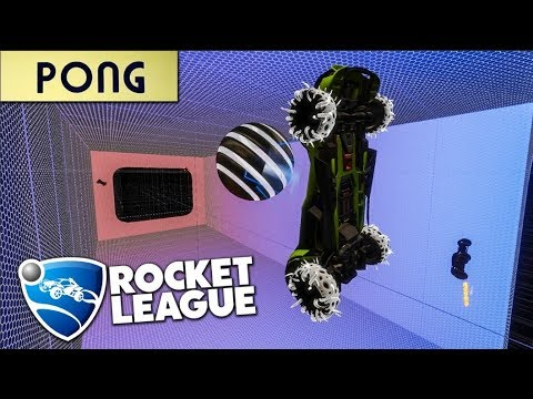 Rocket League PONG Is Ridiculously Fun!