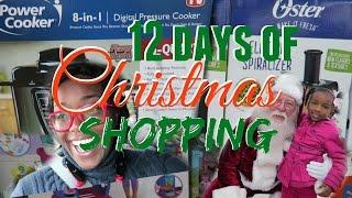 Christmas Shopping | 12 Days of Christmas