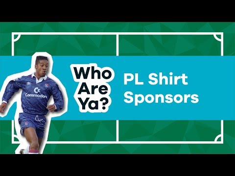 Do Students Know The First Ever Premier League Shirt Sponsors? | Who Are Ya?