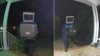 Why Is This Person Leaving Old TVs on Doorsteps?