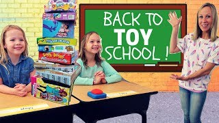 Addy and Maya are Back at Toy School !!!