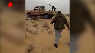 مقاتلين اتحاد قبائل سيناء أثناء مداهمتم وكر للدواعش وقتل عنصر وفرار الباقين