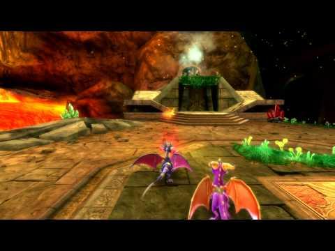 Видео № 1 из игры Legend of Spyro: Dawn of the Dragon [DS]