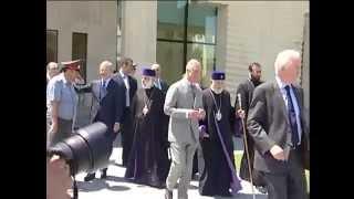 Принц Чарльз в духовной Столице армян