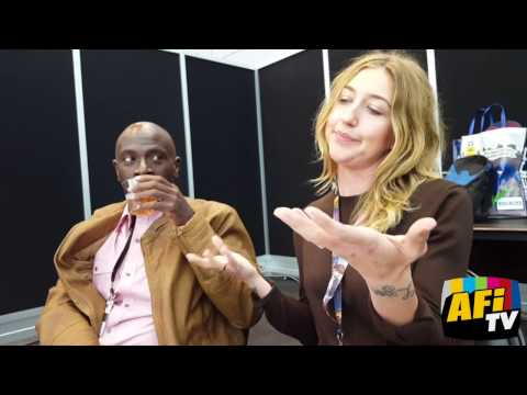 NYCC 2016 - SuperMansion Interview 3 with Heidi Gardner and Gary Anthony Williams