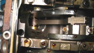 Ford F150 Crankshaft and bottom of pistons inspection