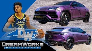 Custom Lamborghini Urus By Dreamworks Motorsports For Jeremy Lamb Of The Charlotte Hornets