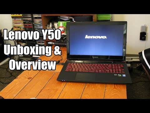 Lenovo Y50 Unboxing & Overview | i7 4710HQ, GTX 860M, 1TB SSHD, 8GB RAM