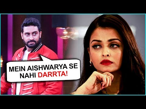 Abhishek Bachchan Is SCARED Of Wife Aishwarya Rai