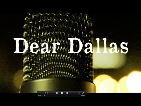 "Anonymous ""Dear Dallas"" [Shot @K211Texas]"