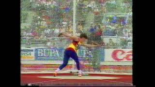 Nicoleta Grasu 63.64m Discus Helsinki 1994