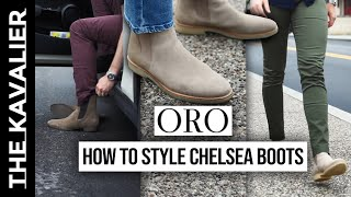 How To Style Chelsea Boots - Casual To Suited