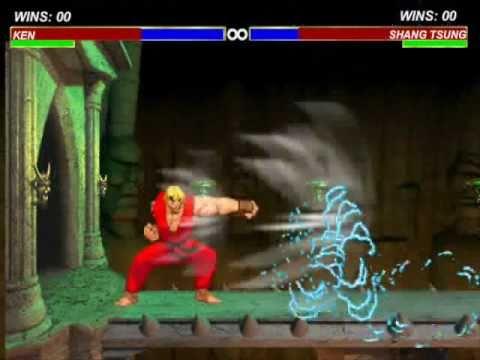 Ken vs Shang Tsung